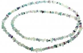 Fluorit Splitter Halskette Multicolor