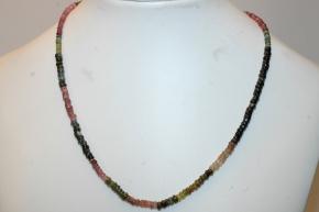 Halskette Turmalin faccetiert (Reifen)
