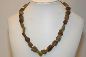 Halskette Turmalin Natur