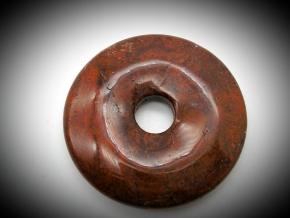 Donut Anhänger in Brekzien Jaspis 38  mm