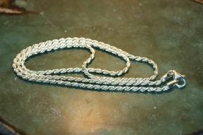 Kordelkette aus 925 er Silber