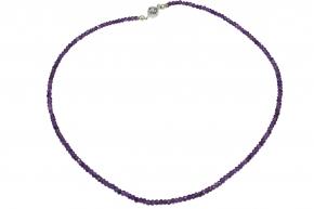 Wunderschöne Amethyst - facettiert-Halskette