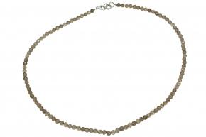 Rutil Quarz-Halskette facettiert
