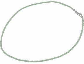 Wunderschöne Aquamarin Halskette Facettiert AA