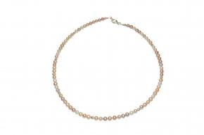 Süsswasser Perlenkettemit 925er Silber