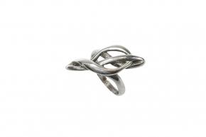Violin Schlüsel Ring 925-Silber Größe: 17 mm (57 )