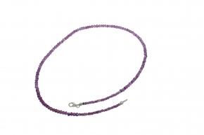 Wunderschöne Amethyst - facettiert-Halskette  A