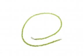 Wunderschöner Peridot-Halskette mit 925er Silber (Reifen)