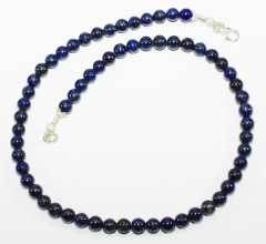 Lapislazuli Perlen Halskette