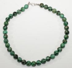 Wunderschöner Afrikanische Türkis -Halskette
