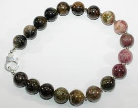 Wunderschöner Turmalin AAA -Halskette mit 925er Silber