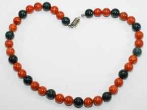 Wunderschöne Schaumkoralle/Falkenauge-Halskette