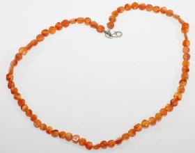 Carneol Scheiben-Halskette