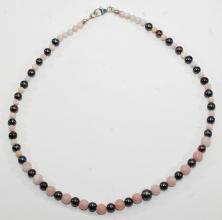 Halskette Anden Opal mit Perlen