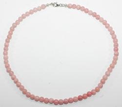 Halskette Anden Opal Kugel mit Silber Karabiner Verschluss