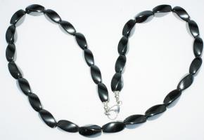 Wunderschöner Nuggets Hämatit Halskette