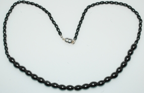 Wunderschöner Hämatit Halskette im Verlauf mit Magnet Verschluss