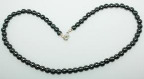 Schöner Hämatit Kugel Halskette