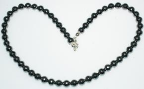 Schöner Hämatit Halskette Facettiert A Qualität