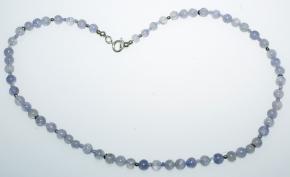 Wunderschöne Iolith Halskette mit 925er Silber
