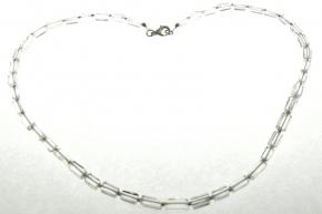 Wunderschöne Bergkristall Halskette mit 925er Silber  Zwischenteile