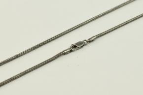 Fuchsschwanzkette Silber Halskette