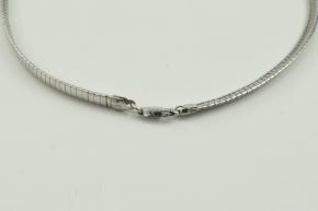 Silber Collier italienischer Design