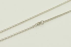 Anker Silber Halskette