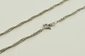925er Silber Halskette gedreht
